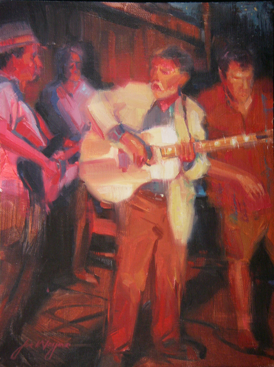 good_old_boys_9x12_oil
