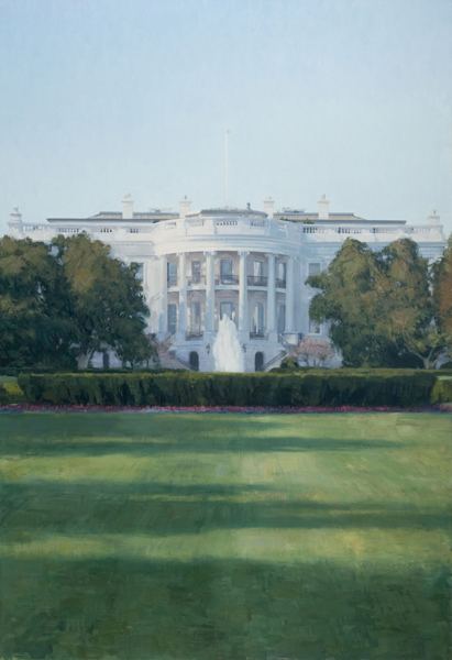 The White House (Part of a commissioned triptych)
