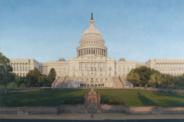 The Capitol Building (Part of a commissioned triptych)