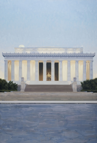 Lincoln Memorial (Part of a commissioned triptych)